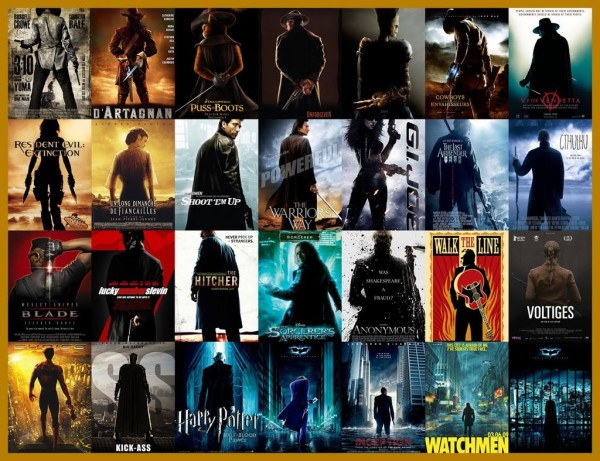 One man or women or cat movie posters