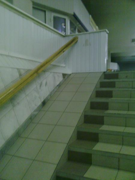 Escaleras Y Rampas Para Discapacitados Un Tanto