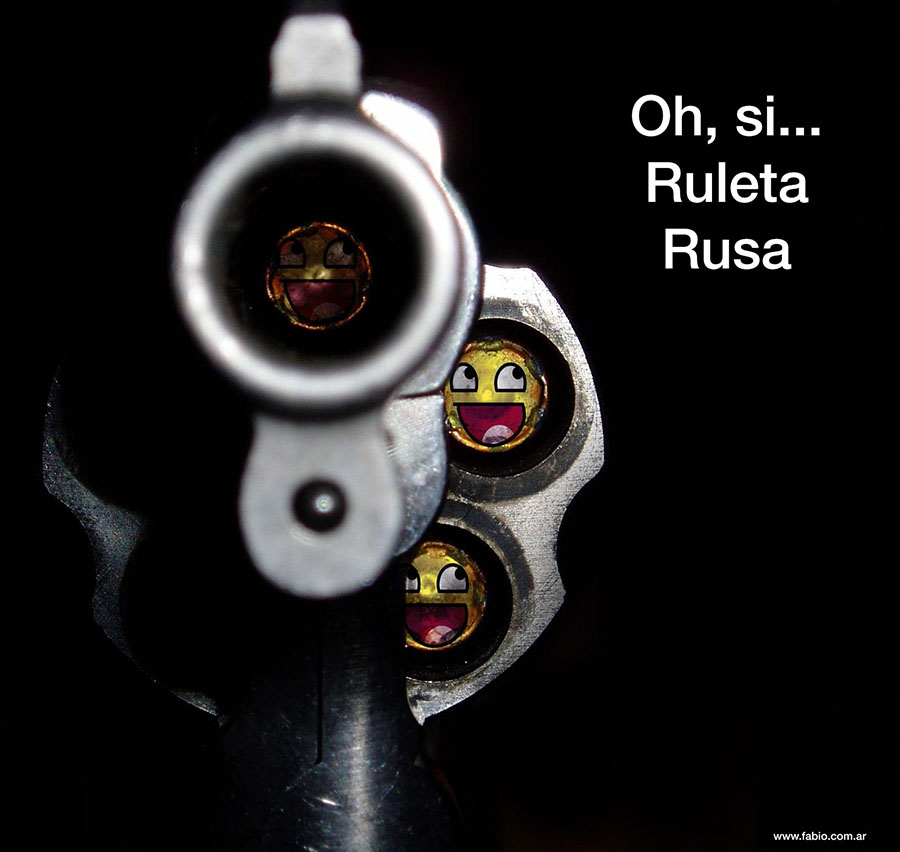 All the bullets #RuletaRusa