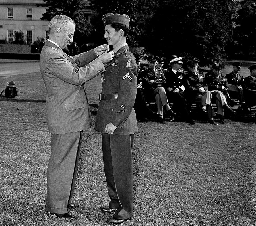 Doss soldado medalla