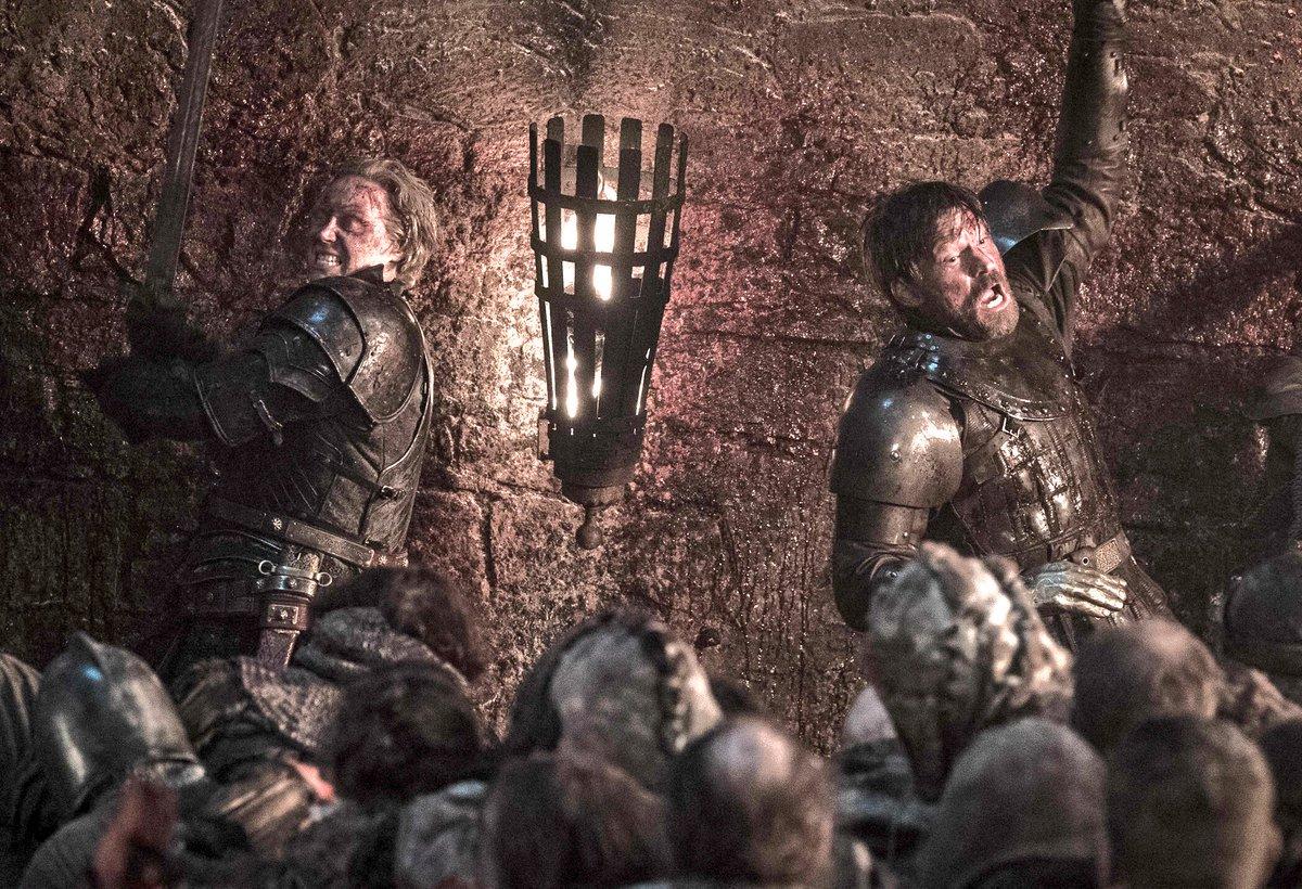 Brienne y Jamie Game of Thrones